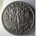Frégate l'ACONIT Médaille de table 68 mm