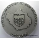 Centenaire de l'Union départementale de l'Aube Médaille de table