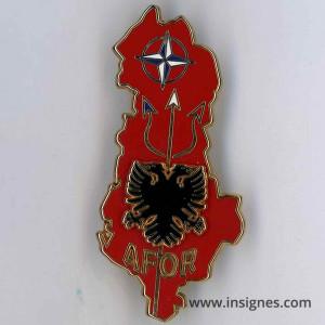 AFOR Opération ALBA (ALBANIE)
