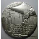 Entrepot de l'Armée de l'Air 609 Cinq Mars La Pile Médaille de table 65 mm