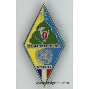 Compagnie Appros 12° Mandat Liban 420 DSL