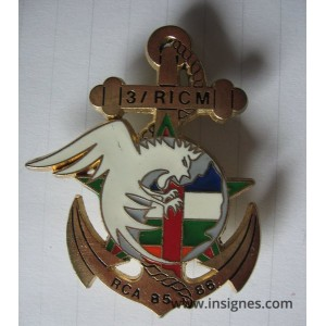 RICM 3 Escadron RCA 85 86