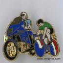 Pin's Garde Républicaine Tour de France 1992 vert