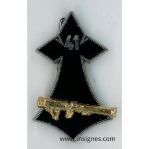 41° Régiment d'Infanterie Hermine LRAC 89 mm doré