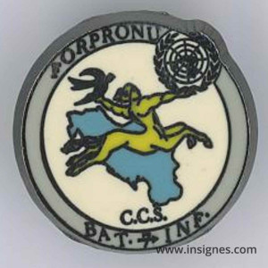 FORPRONU CCS BAT INF Pin's 7 DB Ex-yougoslavie
