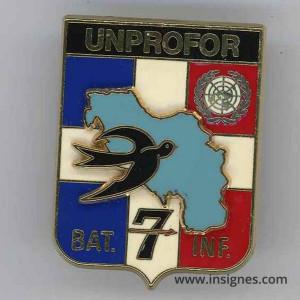 8° Régiment d'Infanterie Bataillon d'Infanterie UNPROFOR 7 DB