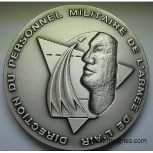 Direction Personnels Militaires Armée de l'Air Médaille de table 65 mm