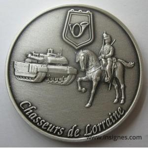 3° Régiment de Chasseurs Coin Cavalerie Coin's + devise