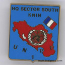 HQ Sector south KNIN UN 1 PF EX-YOUGOSLAVIE