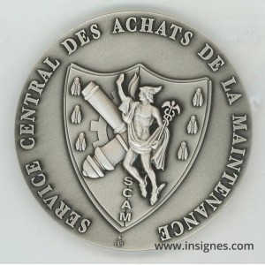 Service Central des Achats de la Maintenance Médaille de table