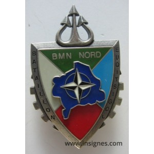 Bataillon Logistique BMN NORD 2 attaches pin's