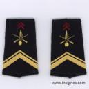 Tissu fourreaux Infanterie Sergent VSL
