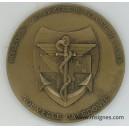 DIASS Nouvelle Calédonie Médaille de table bronze