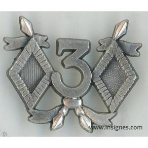 3° Régiment de Cuirassiers Insigne de Campagne