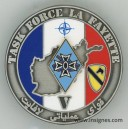 Task Force La fayette 1° Brigade Blindée