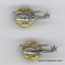 Lot de 5 pin's Hélicoptéres PUMA