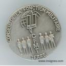 Conseil de la Fonction Militaire Terre CFMT Pin's