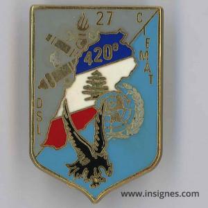 420° DSL CIEMAT 27° Mandat Liban Finul