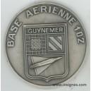 Base Aérienne 102 Médaille de table 80 mm