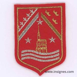 Division du Rhin Tissu