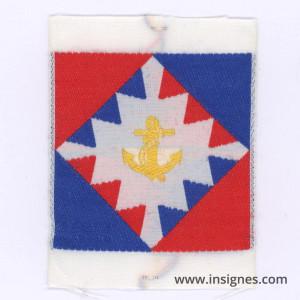 109° Division d'Infanterie (formée par les TDM)Tissu