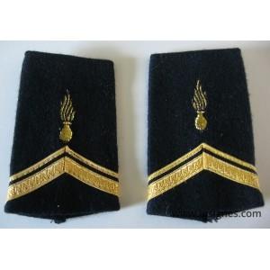 Tissu fourreaux GSEM Sergent ADL