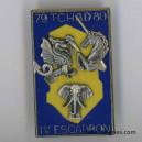 1° RHP 1° escadron Tchad 79 80