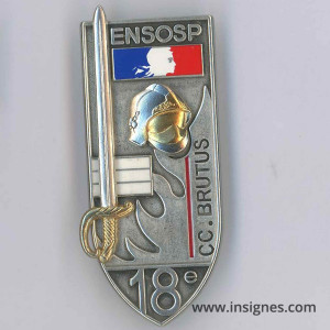 ENSOSP 18° Promotion CC BRUTUS Pompiers