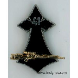 41° Régiment d'Infanterie Hermine fusil FRF1 or