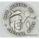 Base Aérienne 943 NICE Médaille de table Cne AUBER