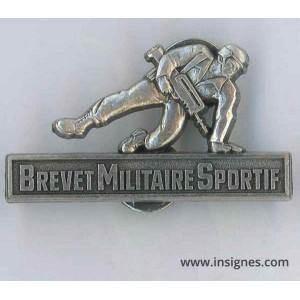 Brevet Militaire Sportif Argent