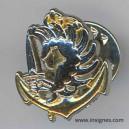 Pin's insigne de beret para colo Pin's Hauteur 1,7 cm