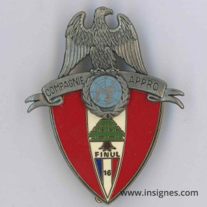 Compagnie APPRO FINUL 16° Mandat Liban