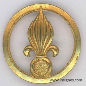 Légion Etrangére doré