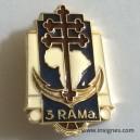 3° RAMA en Argent Massif