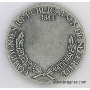CRS Médaille de table 70 mm