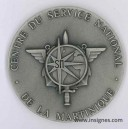 Centre Service National MARTINIQUE Antilles Médaille de table 7 cm