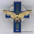 Aumonier Militaire Catholique Armée e l'Air Croix en Pin'