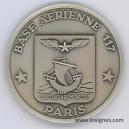 Base Aérienne 117 Paris Fond de coupelle 65 mm