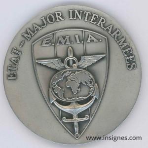 EMIA Etat-Major InterArmes Fond de coupelle 70 mm
