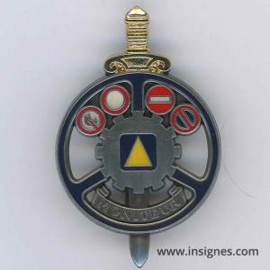 IEC Brevet Aide- Moniteur Garde épée dorée bouclier argenté