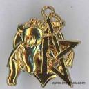 RICM 5° Escadron Insigne de récompense ourson doré année 2005