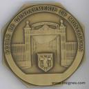 Ecole de la Gendarmerie de MONTLUCON Médaille de table 72 mm