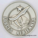 Forces Aériennes Médaille de table 90 mm