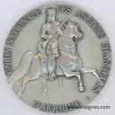 Union Nationale des Anciens Chasseurs d'Afrique Médaille de table 65 mm