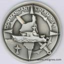 Commandant L'HERMINNIER Fond de coupelle Marine 65 mm