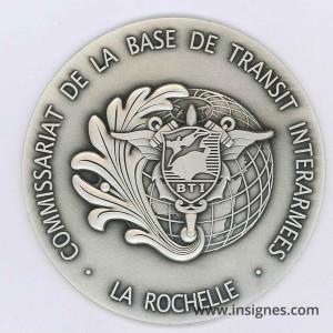 Commissariat Base de Transit La Rochelle Fond de coupelle 65 mm