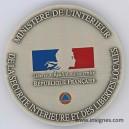 Ministére de l'Interieur Sécurité Interieure Libertés Locales Médaille de table