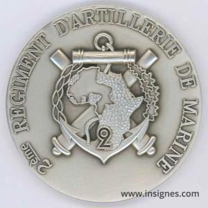 2° RAMA Médaille de table 70 mm (argentée)