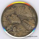 6 Juin 1944 Débarquement Chars Médaille 50 mm